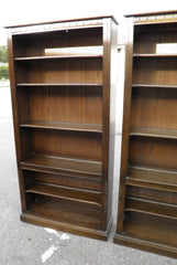 Pair Of Genuine Ercol Tall Bookcases