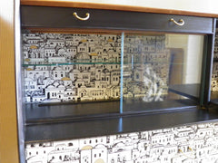 Superb Fornasetti Style G Plan Sideboard