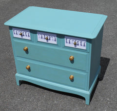 Vintage Stag Minstrel Chest Of Drawers.