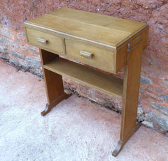 110...Art Deco Style Vintage Side Table / Writing Table / Desk