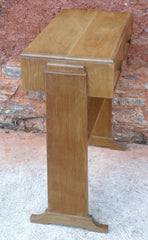 Art Deco Style Vintage Side Table / Writing Table / Desk