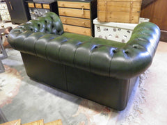 Vintage Chesterfield Leather Sofa