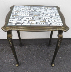 Fabulous Fornasetti Vintage Nest Of Tables.