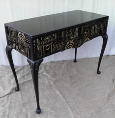 Elegant Vintage Side Table / Dressing Table / Desk