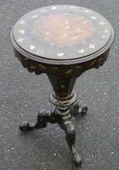 Victorian Decorated Trumpet Workbox