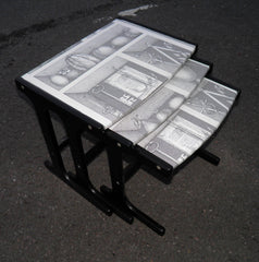 Upcycled Retro Nest Of Coffee Tables