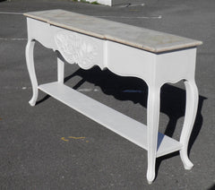 Gorgeous French Shabby Chic Console Table