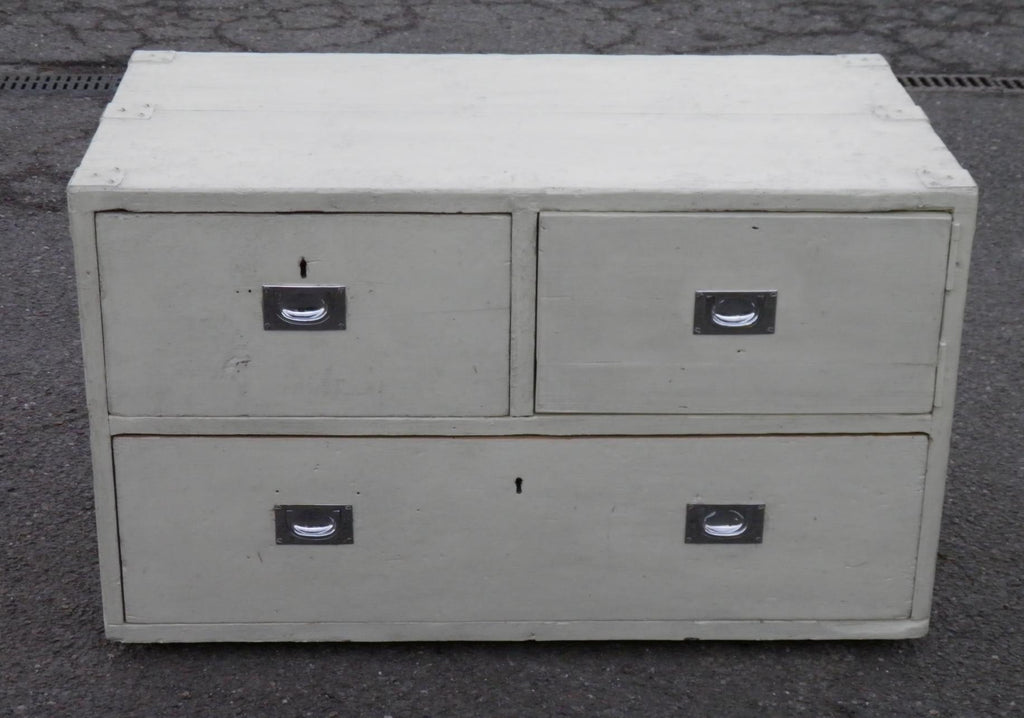 RUSTIC ANTIQUE SHABBY CHIC PINE MARINERS CHEST....SALE SALE SALE !