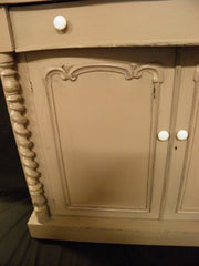 ANTIQUE SHABBY CHIC SIDEBOARD / CHIFFONIER.... SALE PRICE !