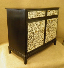 Upcycled Vintage Stag Sideboard / Side Cabinet