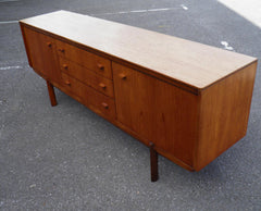 Beautiful Mid Century White & Newton Golden Teak Sideboard