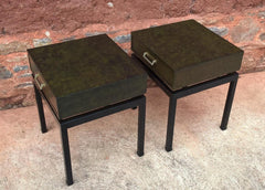 Rare Pair Of Limba G Plan Bedside Tables / Bedside Cabinets