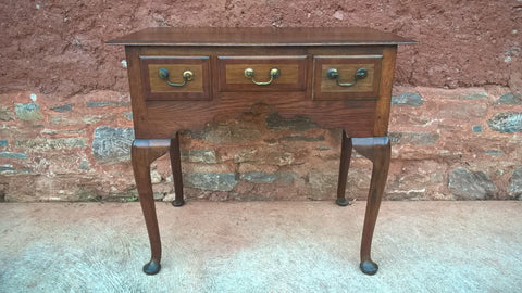 105...Antique Oak Lowboy