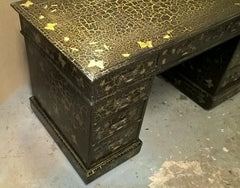 Edwardian Twin Pedestal Desk