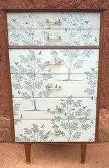 Upcycled Vintage Retro Chest Of Drawers