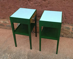 Pair Of Retro Bedside Tables or Lamp Tables