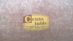 Rare (Ercol Style) Retro Table And 4 Chairs Made By Centa.