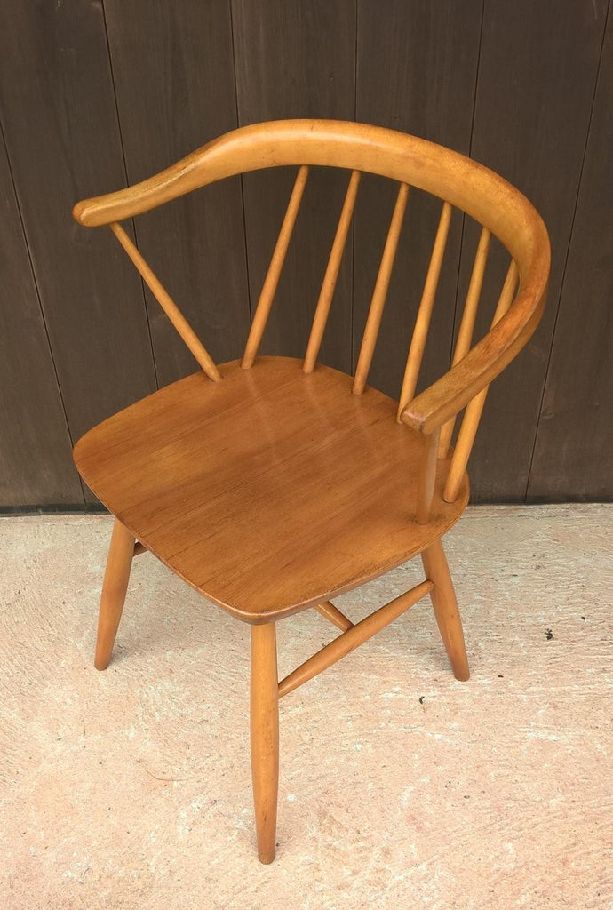 Fine Rare Ercol Style Retro Table And 4 Chairs Made By Centa Alphanode Cool Chair Designs And Ideas Alphanodeonline