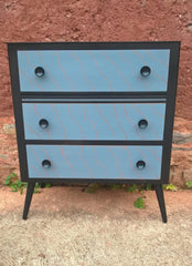 Fabulous Vintage Retro Chest Of Drawers
