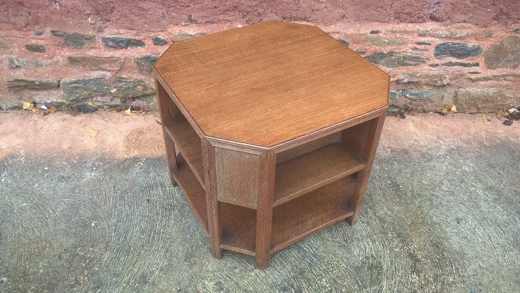 Art Deco Vintage Coffee Table Bookcase