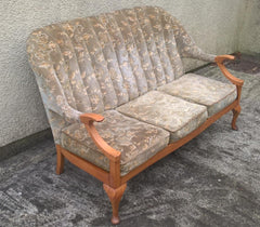 Stylish 1960's Vintage Retro Settee / Sofa