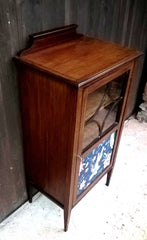343.....Attractive Vintage Upcycled Mahogany Music Cabinet ( SOLD )