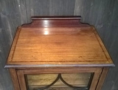 343.....Attractive Vintage Upcycled Mahogany Music Cabinet