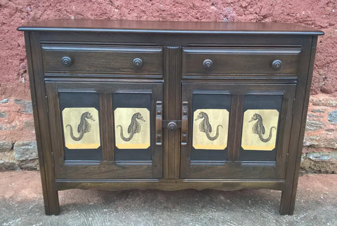 Ercol Cottage Style Sideboard - Upcycled Dresser Base