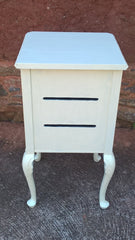 Beautiful Upcycled Bedside Cabinet - Bedside Table