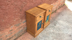 230......Bedside Cabinets, A Stunning Pair Of Pine Bedside Tables