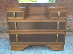 231.....Gorgeous Upcycled Art Deco Dressing Table