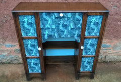 248.....Stunning Bureau Bookcase / Upcycled Desk