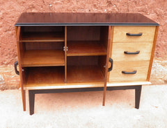 Solid Walnut Vintage Retro Sideboard