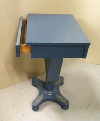 A 19th Century Upcycled Work Table / Lamp Table