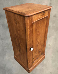 134.....Victorian Pine Bedside Cupboard ( SOLD )