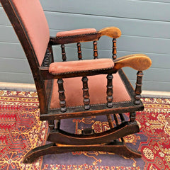 165.....Antique American Rocking Chair / Vintage Rocking Chair ( SOLD )