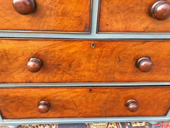 173.....Gorgeous Small Antique Mahogany Chest Of Drawers