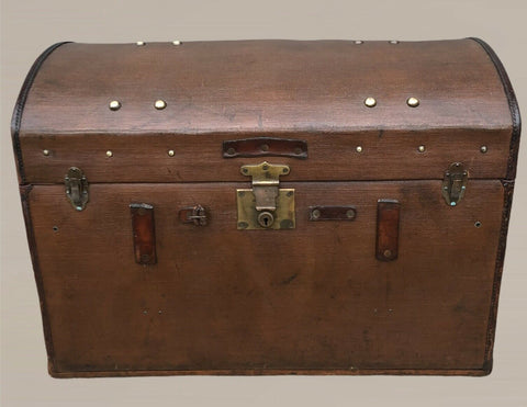 127.....Vintage Travel Trunk / Chest, 1930s