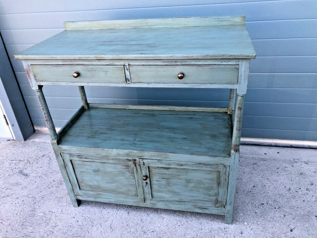 132.....Antique Country House Buffet Sideboard
