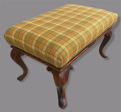 128.....Stunning Antique Rosewood Stool Dating From The Early 19th Century