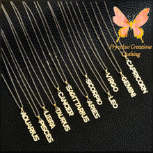Load image into Gallery viewer, Gold Sagittarius Zodiac Necklace