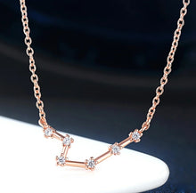 Load image into Gallery viewer, Leo Astrology Constellation Necklace