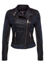 Load image into Gallery viewer, Biker Chic - Black/Denim