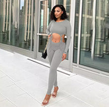 Load image into Gallery viewer, Rude Gyal Jumpsuit - Gray
