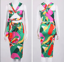 Load image into Gallery viewer, Picasso Dress - Multi Color