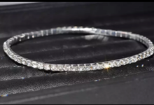 Load image into Gallery viewer, Rhinestone Anklet - Silver