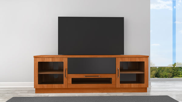 "70"" Contemporary Light Cherry Media Console FT72CCLC"