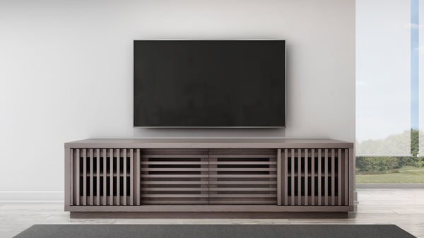 "82"" Coastal Grey Oak Media Console FT82WSG"