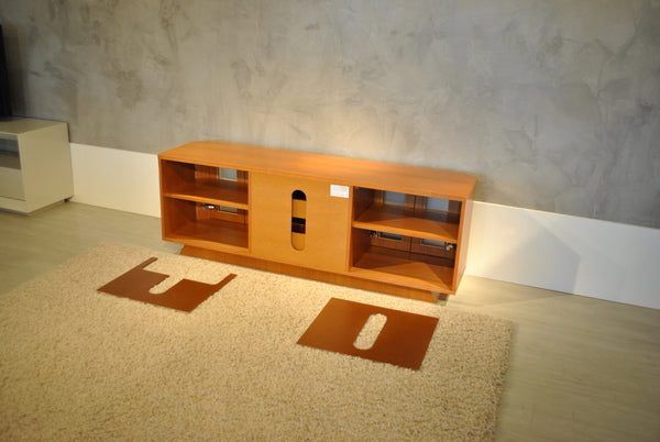 "70"" Transitional Light Cherry Media Console FT71CRCLC"