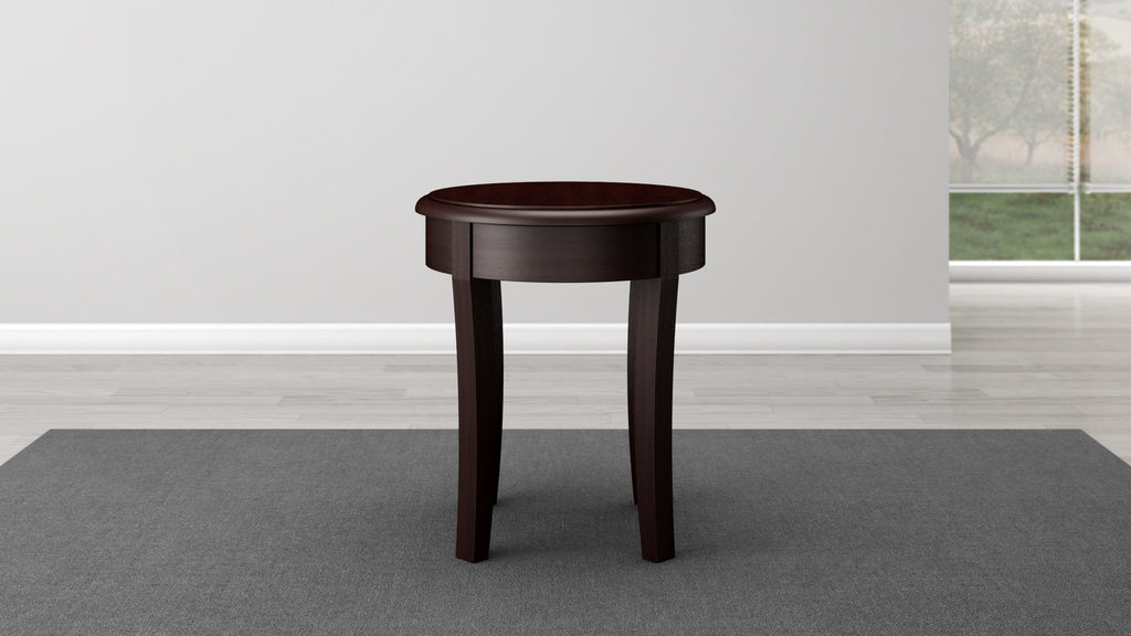 Brazilian Cherry End Table In A Wenge Finish ...